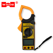 WHDZ DM6266 Digital Clamp Meter Non-skid Design AC/DC Voltage AC Current Resistance Tester Professional Dinostic Diagnostic-Tool(China)
