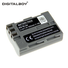 DigitalBoy 1PCS Rechargeable Battery EN-EL3e ENEL3e EN EL3e Camera Battery For Nikon D300S D300 D100 D200 D700 D70S D80 D90 D50()