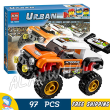 9City Great Vehicles Stunt Truck Road Model Building Blocks 10645 Assemble Bricks Children Toys Compatible Lego - Baby Rhythm store