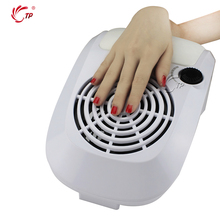 TP 220V/110V White Dust Suction Fan Nail Dust Collector Nail Art Beauty With 2 Bags Manicure Tools Equipment(China)