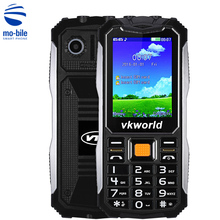 Vkworld Stone V3S 2.4'' Quad Band Mobile Phone SPRD6531 Camera Bluetooth FM Power Bank Long Standby Outdoor Waterproof Cellphone
