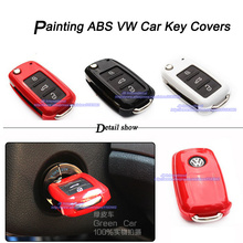 New Styling Car Key Case cover for VW Seat Skoda folding key from (approximately) 11/2009