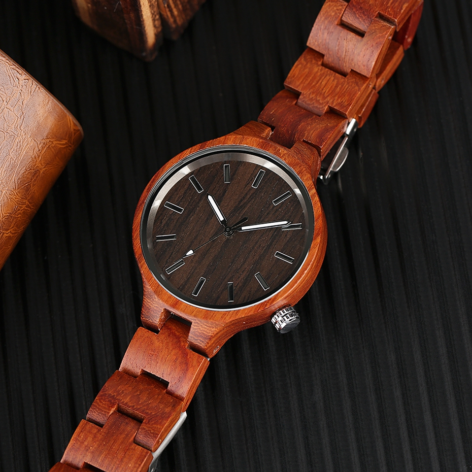 Creative Women's Fashion Wood Watches Women Handmade Bamboo Wristwatch Full Wooden Strap Novel Quartz Watch Relogio Feminino HOT 2017 Rich Women (11)