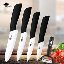 "Kitchen Knife Ceramic knife  3"" 4"" 5"" 6"" inch Zirconia sushi White Blade Chef Paring Fruit Vege Cooking Knife Ceramic Knives"