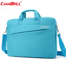 Cool Bell 12.4/13.3/14.6/15.6 inch Notebook Computer Briefcase Men Women Laptop Bag for Apple Macbook Air Pro 12 13 14 15