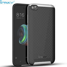iPaky Original Shell For Xiaomi Redmi 5A Case 4A Cover PC Frame+Silicone Hybrid Back Cellphone Case for Xiaomi Redmi 4A/5A coque(China)