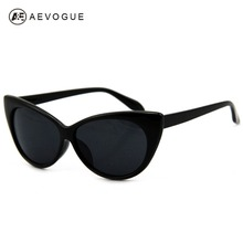 Retail Hot Tip Pointed Vintage plastic sunglasses women Inspired Sexy Mod Chic Rtro brand sun glasses Cat Eye Oculos DT0170(China)