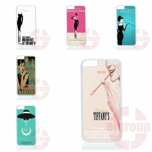 audrey hepburn breakfast at poster For Apple iPhone 4 4S 5 5C SE 6 6S 7 7S Plus 4.7 5.5 iPod Touch 4 5 6 Phone Cover Case Coque