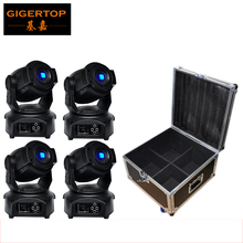 Flight Case 4In1+4XLOT 60W Led Moving Head Light,DMX512,China Huiliang Lamp Led Moving Head Gobo 60W Led Stage Light Equipment
