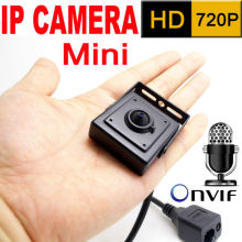 micro 3.7mm lens mini ip camera 720P home security system cctv surveillance small hd Built-in Microphone onvif video p2p cam(China)
