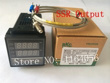 PID Digital Temperature Controller REX-C100(V) with K thermocouple, SSR output(China)