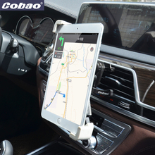 Cobao Universal Car Holder 7-11 inch Tablet Stand Car Air Vent Mount Tablet Support For iPad Air 2 mini 2 3 4 Samsung Kindle(China)