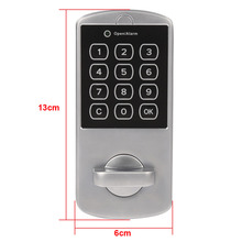 Home Use Cabinet Coded Locker Touch Keypad Password Key Access Lock Digital Electronic Security Door Locker High Quality
