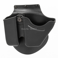 Hunting compact right hand Tactical SG-21 Right Hand Paddle Holster Carry Hide Polymer Black for hunting paintball airsoft