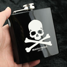 Creative Gift For Man Wine Set Related Products Of Mastermind Japan Fasionale Stainless Steel Metal 6 Ounce Portable Hip Flask(China)