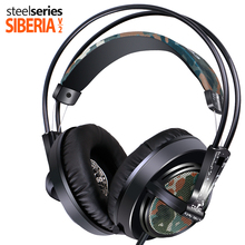 Steelseries Siberia V2 CSGO Camouflage Gaming Headphones Noise Isolating ecouteurs top quality in ear headphones for gamers
