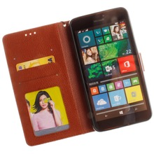 For Lumia 640XL Luxury Wallet Style PU Leather Case for Microsoft Lumia 640XL with Card Holders Smart Stand Skin Cover Case