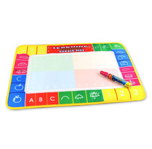 Water Drawing Mat Board & Magic Pen Doodle Toy Gift Painting Writing Board For Kids Children Brinquedo Educativo Lowest Price