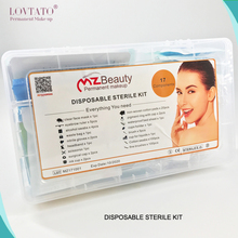 Disposable Revolutionary kit For microblading permanent makeup procedure Disposable Sterile Kit microblading tools(China)