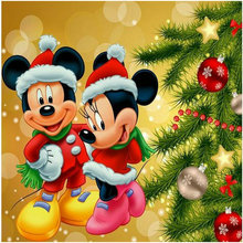ZOOYA Needlework diy diamond painting cross stitch cartoon Mouse 5D diamond embroidery icon Christmas Home Decoration painting(China)
