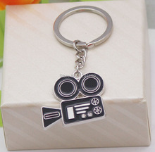 Free shipping the  key chain camera shape send birthday gift to a friend special