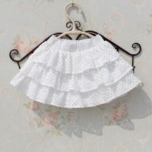 2017 New Summer 3-15 Years Children Baby Tutu Skirt White Ruffles Cake Tutu Girls Skirts Saia Ballet Skirt Fantasia Tutus JW1996(China)