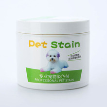 Top Performance Hair Dye Gel for Dogs professional pet hair cream hair color non-toxic DIY dyeing wax 3.51oz/100ml