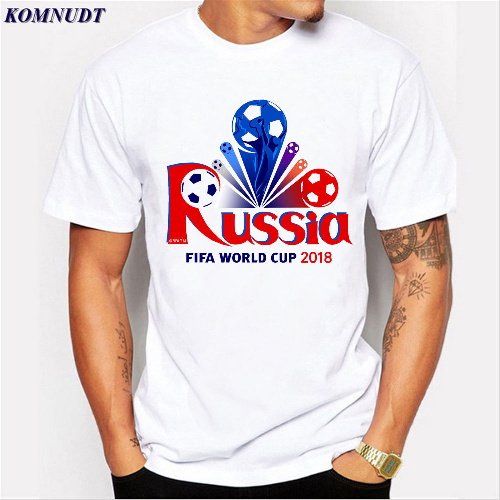 2018 2018 Newest Cool Design World Cup 2018 Russia Men'S T ...
