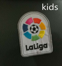 2017 2018 kids LFP patch New La liga patch player version game patch backpage Embroidery patch