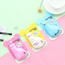 Kawaii Cat Plastic Correction Tape Cute Cartoon Animal Corrector Tape For Kids Gift Korean Stationery Free Shipping 1532(China)