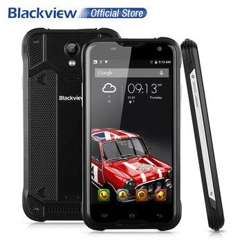 BLACKVIEW BV5000 4G Mobile Téléphone 5.0 pouce HD MTK6735 Quad Core Android 6.0 2 GB RAM 16 GB ROM 8MP CAM Étanche IP67 Smartphone