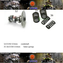Free shipping Motorcycle Engine Parts Kit for 172MM CFMOTO CF250 Scooter atv 250cc kickstarter dirt bike