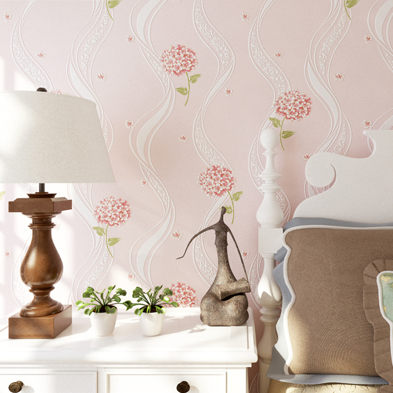 Modern 3D Wallpaper Non-woven Rustic wallpaper for walls 3 d Strip Wall paper Roll for Living Room Bedroom Background Wall Mural<br>