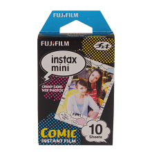 Original Fujifilm Comic Instax Mini 8 film (10 sheets) for Polariod mini Camera Instant mini 7s 25 50s 90 300 Share SP-1