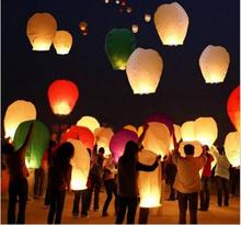 20pcs/lot Chinese Lantern Hot Air Balloon Sky Fly Candle Lamp for Birthday Wedding Party lantern Wish Lamp Sky Lanterns(China)