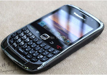 Unlocked Original Blackberry  Curve 9300 Mobile phone QWERTY Keyboard 2MP Camera Black  Free DHL-EMS Shipping