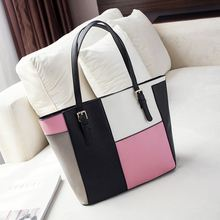 2016 New Brand Women Large Tote Bag PU Leather Female Designer Handbags High Quality Sac a Main Femme De Marque Celebre Bolsas