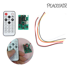 peacefair Stepper Motor Driver Control Integrated Board 2-phase 4-wire Controller Speed Adjustable with Remote(China)