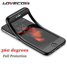 LOVECOM For iPhone 5 5S SE Case Full Body Shockproof Soft Silicon Shell Coque Protective Mobile Phone Cases Back Cover Fundas