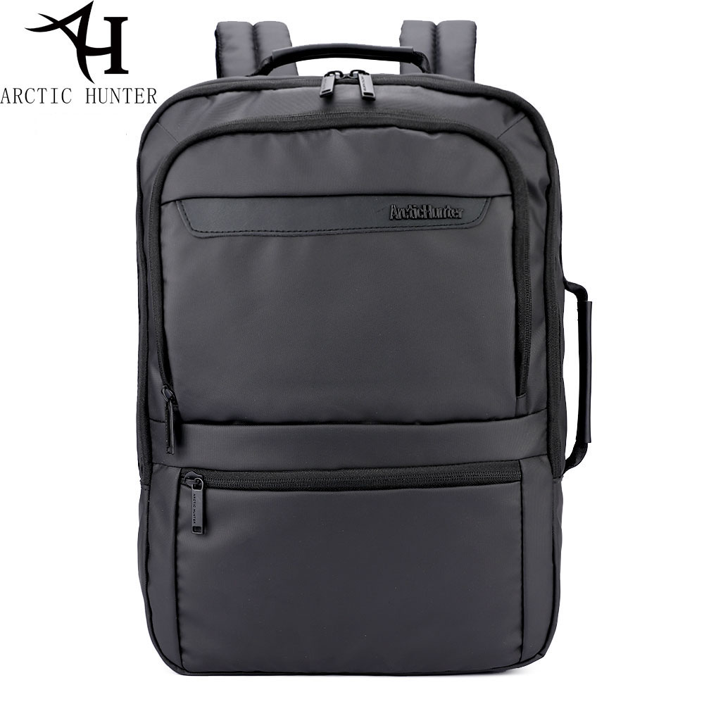 ARCTIC HUNTER  17 inches High Backpacks Men 15.6 inch Laptop Backpack External Backpack For Men Male Waterproof Bag Rucksack<br>