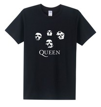 Buy New Fashion Classic Rock Band Queen T Shirt Men Cool Printed T-shirt 2016 Summer Short Sleeve Cotton Heavy Rock Tops for $8.89 in AliExpress store