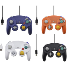 USB Wired Controller For Nintendo Gamecube Console Handheld For NGC For Wii Joystick with USB or GC Port For PC For MAC Computer