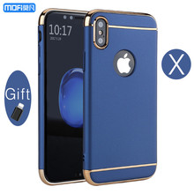 "For iphone X case cover for iphone X edition case luxury MOFi X case hard back cover capa coque funda special red blue gold 5.8""(China)"