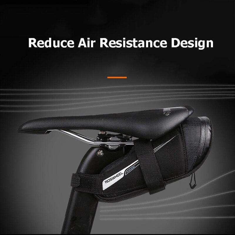Bicycle Saddle Bag Tear Resistant Rainproof Cycling Rear Seat Bags MTB Road Bike Tail Repair Tools Pouch Bike Accessories BG0090 (1)