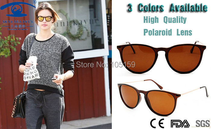 New 2015 Outdoor Retro Sunglasses Women Men Unisex Polaroid Lens Polarized Sunglasses Light Weight Vintage Round oculos<br><br>Aliexpress