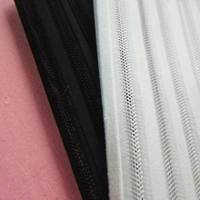 Free shipping 3D mesh fabric NEW DESIGNS airmesh Striped sandwich fabric for lady dress skirt sports shoes air layer cloth tissu(China)