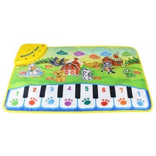 Baby Musical Carpet Kids Play Mat Baby Educational Mat Electronic Kids Toys(China)
