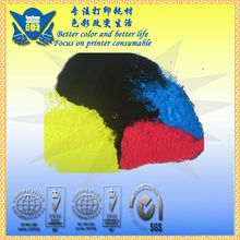 color  refillable Ricoh toner powder compatible  for Ricoh  CL7100