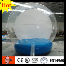 importer inflatable christmas ornament custom girl snow globe dia 4m christmas event advertising show toys