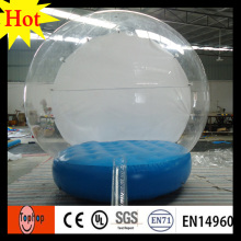 importer inflatable christmas ornament custom girl snow globe dia 4m christmas event advertising show toys(China)